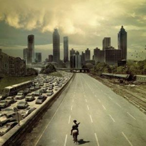Tainsi The Walking Dead - Dead City Poster-11x17inch,28x43cm 6