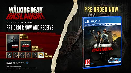 The Walking Dead Onslaught PS4 Game (PSVR Required) 2