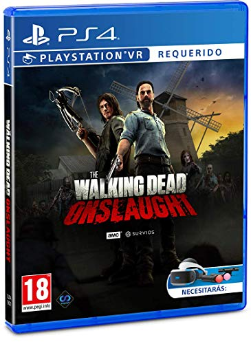 The Walking Dead Onslaught PS4 Game (PSVR Required) 1