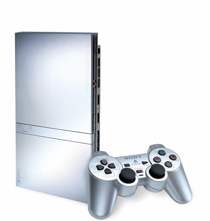 Console PlayStation 2 Silver 1