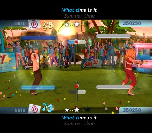 PS2 Game High School Musical - Sing it! inkl. 2 Mikrofone 2