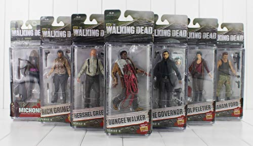 The Walking Dead Figurine Carol Peletier Taille 12 – 14 cm PVC collectionneur Merchandising Comic ps4 Personnages Daryl Dixon Rick Grimmes Abraham Ford Negan Michonne The Governor Hershel Greene 3