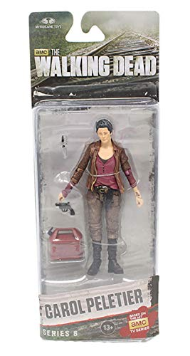 The Walking Dead Figurine Carol Peletier Taille 12 – 14 cm PVC collectionneur Merchandising Comic ps4 Personnages Daryl Dixon Rick Grimmes Abraham Ford Negan Michonne The Governor Hershel Greene 1
