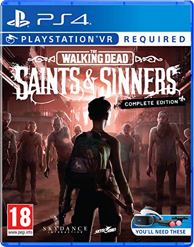 The Walking Dead Saints & Sinners Complete Edition PS4 Game (PSVR Required) 1