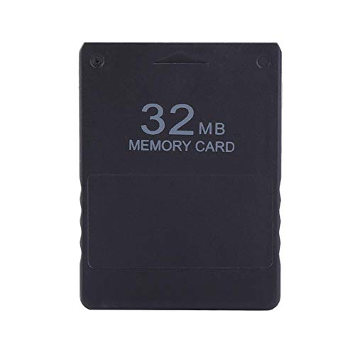 Carte mémoire - BiuZi 1Pc 8M-256M PS2 Memory Card Plastic Black High Speed Memory Card Compatible for Sony PlayStation 2 PS2 Games Accessories 1
